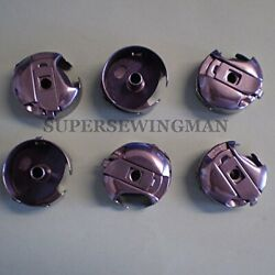 6 Bobbin Case M-style Consew 206rb Walking Foot Industrial Sewing Machine 18045