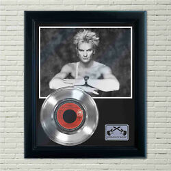 Sting Moon Over Bourbon Street Silver Framed Record Display