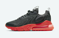 Nike Air Max 270 React Eng Grey Black Red Cz1759 002 Sizes 7-14 Brand New In Box