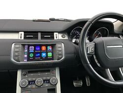 Wireless Apple Carplay Android Auto For Land Rover Range Rover Evoque 2015-2019