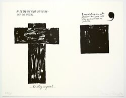 Raymond Pettibon Untitled At The End... 2000. Signed Numbered Print