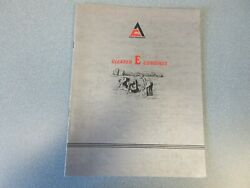 Allis Chalmers Gleaner E Combine Sales Brochure 14 Pages
