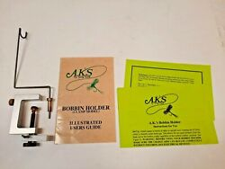 A.k.and039s Bobbin Holder Fly Tying Tool Vintage Ak Best Tools W Instruction Booklet