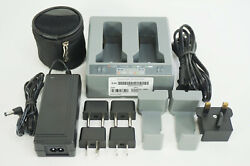 Trimble Dual Dock Bay Charger 53018010 Gps Total Station V10 R10 S6 S8 Sps985 R8