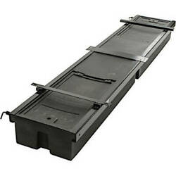 Underchassis Storage Container Double No Tire Carrier 99.5l X 19.125w
