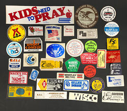 Vtg Coal Mining Mine Hard Hat Stickers Decals Lot Of 35 Wv 1980s Trucking Usa B5