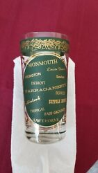Famous Racetracks Of America Glass Horse Racing Extremely Rare Not Derby
