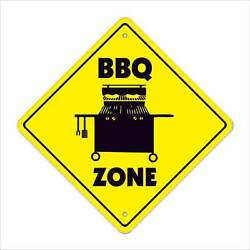 Bbq Crossing Decal Zone Xing Barbeque Gas Grill Cooker Sauce Texas Cookout