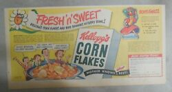Kellogg's Cereal Ad Chiquita Banana Doll From 1948 Size 7.5 X 15 Inches