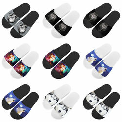 Animals Fashion Slippers Indoor Slipper Beach Summer Flat Shoes Bathroom Shoes