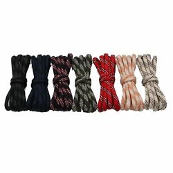 Unisex Striped Shoelaces Cool Shoestrings Running 5mm Round Polyester Shoestring