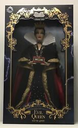 """Disney Store Snow White 80th Anniversary 17"""" The Evil Queen Limited Edition Doll"""