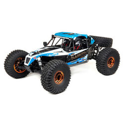 Los03028t1 Blue And White 1/10 Lasernut U4 4wd Brushless Rtr With Smart Esc