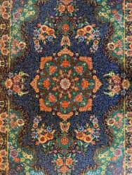 Handmade Rug Carpet 100 Pure Silk W Sign/authentic Qomm/kpsi 700فرش قم ایران