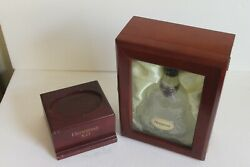 Hennessy Xo Cognac 750ml Bottle With Wooden Glass Box And Extra Wood Stand-sale