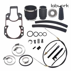 For Mercruiser Alpha One Gen One Transom Service Kit Gimbal Shift Cable Bellow
