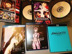 Neon Genesis Evangelion A Perfect Collection 1.112.223.33 Anime Bluray/dvd