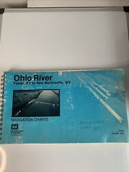 Ohio River Navigation Charts January 1983 Foster Ky. To New Martinsville Wv