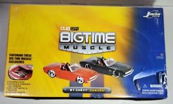 Jada 124 Dub City Big Time Muscle And03967 Chevy Camaro. Pack Of 4. Candy...