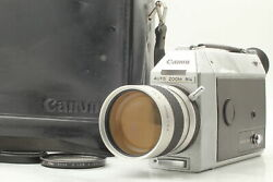 【as Is】 Canon Auto Zoom 814 Electronic 8mm Movie Camera From Japan 579