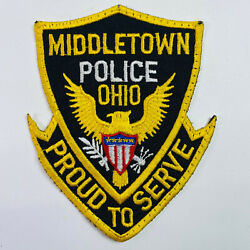 Middletown Police Ohio Oh Patch B6