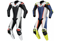 Gp Pro V8 Motorcycle Leather Race Suit | One Piece Motorbike Race Leather Suit