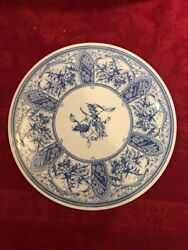 Spode Blue Room Collection Albert Cake Plate New In Box, Box Has Wear.