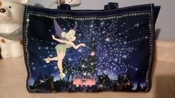 Rare Disney Jean Tinkerbell Early 2000and039s Purseandnbsp Beaded Sequined