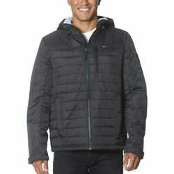 Sale Gerry Mens Quilted Insulated Hooded Jacket Variety Size And Color C45