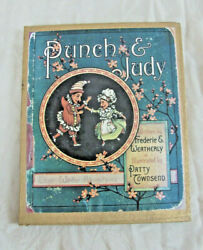 Rare Punch And Judy Puzzle In Box - Children's Game Puppet Puppetry Unused