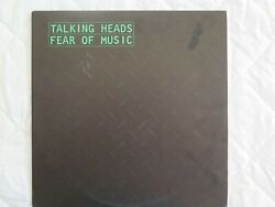Talking Heads-fear Of Music-very Rare Oz 1st Label Variation- Sire Srk 6076-1979