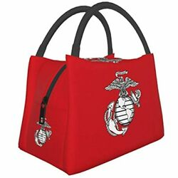 Marine Corps Lunch Bag Tote For Men Women Box Reusable Insulated Container Work $30.97