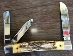 Case Stag Circle C Series Congress Whittler Knife 53088 1986 53088