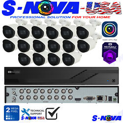 Tvt Superliveplus 4k 16 Ch Security Camera System Kit 8ch Hd Dome 1080p Custom