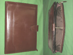 Note Pad 8.5x11 Brown Leather Day Runner Planner Binder Franklin Covey 9332