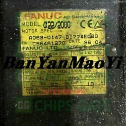 Fedex Dhl Used Fanuc A06b-0147-b177e000 Tested In Good Condition Fast Ship