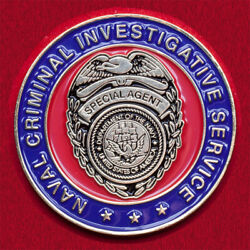 Challenge Coin. Branch Of The Us Navy Investigative Office In New Orleans. Usa