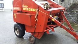 Welgar Rp12 Round Baler Very Little Wear Really Looked After Tractor Baler