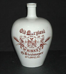Ktandk Knowles Taylor And Knowles Old Maryland St. Louis, Mo - Stoneware Ktk Jug