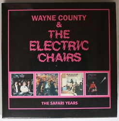Cd Wayne County And The Electric Chairs – The Safari Years 4 Cd Set - Punk..