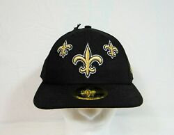 New Era Nfl 100 Years New Orleans Saints Fitted Hat 59fifty Low Pro Sz 7 1/2
