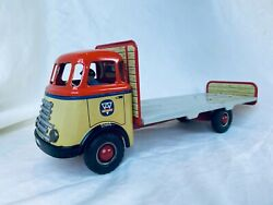 Arnold Daf Ladeflaeche Friction Blech Auto / Tin Toy Truck Rare