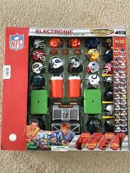 Rare With Score Keeper Mighty Helmet Racers Radio Controlled Rc Football Game