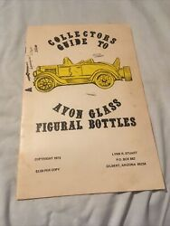 1973 Avon Glass Figural Bottles Collectors Guide 10 Pages In Color