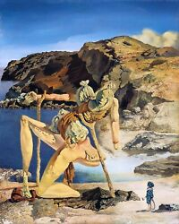 Salvador Dali 1934 The Spectre Of Sex Appeal - Canvas Or Print Wall Art