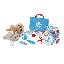 Examine And Treat Pet Vet Play Set By Melissa And Doug New Free Expedited Shipping