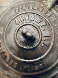 Union Civil War Kettle Albany Ny Hanson And Co 03/19/1861 Can Pickup Locally If Pr