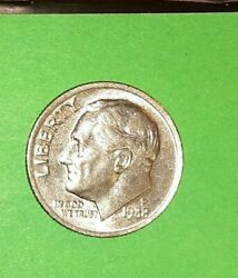 1988 P Roosevelt Dime Error ,doubled Obverse And Reverse ,sweet Coin
