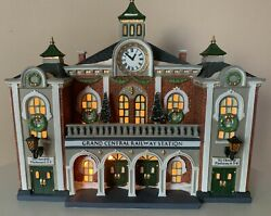 Dept 56 Grand Central Railway Station, Christmas In The City Series, With Box