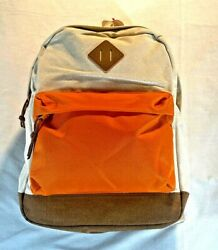 CAT amp; JACK ORANGE CREAM CANVAS BACKPACK BOYS GIRLS NEW WITH TAG $17.18